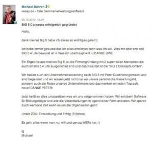 Unternehmer Michael Bühren von Big 5 Concepts GmbH