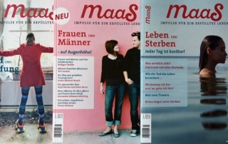 Jahres-Abo Magazin maaS gewinnen
