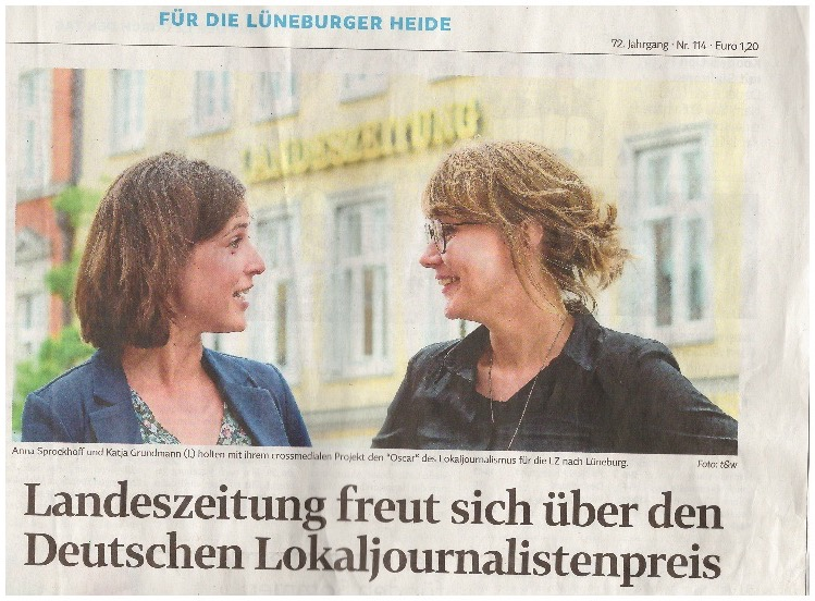 Journalistenpreis in Lüneburg